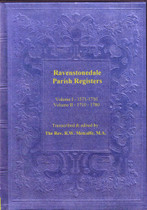 Westmorland Parish Registers: Ravenstonedale Vol. 1 & 2 1571-1780