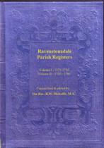 Westmorland Parish Registers: Ravenstonedale Vol. 1 & 2 1571-1780