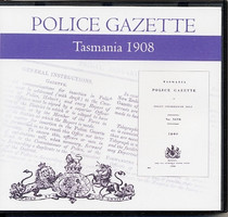Tasmania Police Gazette 1908