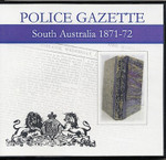 South Australian Police Gazette 1871-72