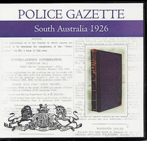 South Australian Police Gazette 1926