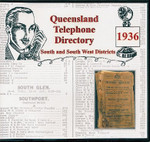 Queensland Telephone Directory 1936: South and South Western Districts