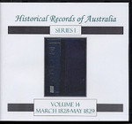 Historical Records of Australia Series 1 Volume 14