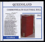 Queensland Commonwealth Electoral Roll 1943 Griffith