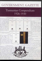 Tasmanian Government Gazette Compendium 1926-1930