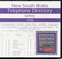 New South Wales Telephone Directory 1936: Sydney
