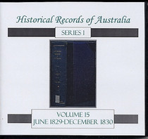 Historical Records of Australia Series 1 Volume 15