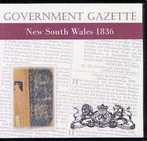 New South Wales Government Gazette 1836