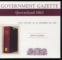 Queensland Government Gazette 1863