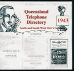 Queensland Telephone Directory 1943: South and South Western Districts