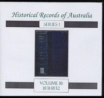 Historical Records of Australia Series 1 Volume 16