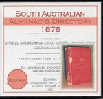 South Australian Almanac and Directory 1876 (Boothby)