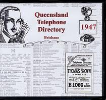 Queensland Telephone Directory 1947: Brisbane