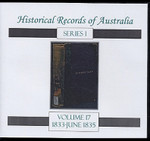 Historical Records of Australia Series 1 Volume 17