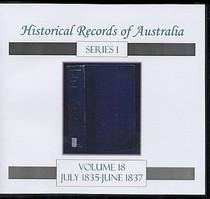 Historical Records of Australia Series 1 Volume 18