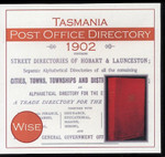 Tasmania Post Office Directory 1902 (Wise)