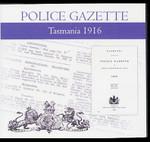 Tasmania Police Gazette 1916