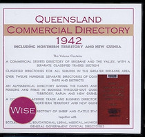 Queensland Commercial Directory 1942 (Wise)