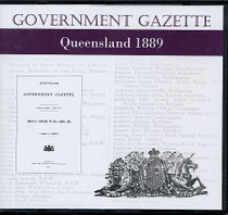 Queensland Government Gazette 1889