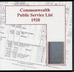 Commonwealth Public Service List 1920