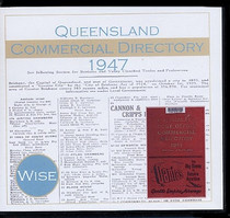 Queensland Commercial Directory 1947 (Wise)