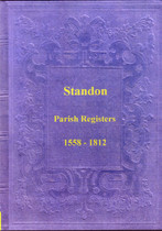 Staffordshire Parish Registers: Standon 1558-1812