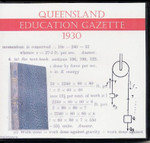 Queensland Education Gazette 1930