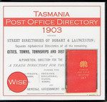 Tasmania Post Office Directory 1903 (Wise)