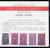 Queensland Education Gazette Compendium 1931-1935