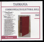 Tasmania Commonwealth Electoral Roll 1943 Wilmot