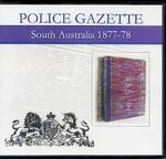 South Australian Police Gazette 1877-78