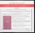 Queensland Education Gazette 1932
