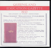 Queensland Education Gazette 1932