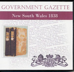 New South Wales Government Gazette 1838