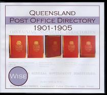 Queensland Post Office Directory Compendium 1901-1905 (Wise)