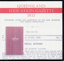 Queensland Education Gazette 1933