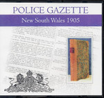 New South Wales Police Gazette 1905