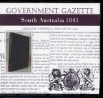 South Australian Government Gazette 1843