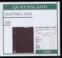 Queensland State Electoral Roll 1893 (A-F)