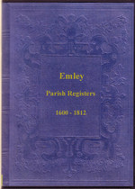 Yorkshire Parish Registers: Emley 1600-1812