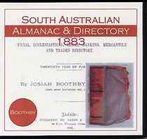 South Australian Almanac and Directory 1883 (Boothby)