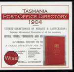 Tasmania Post Office Directory 1904 (Wise)