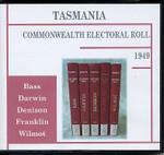 Tasmania Commonwealth Electoral Roll 1949