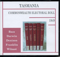 Tasmania Commonwealth Electoral Roll 1949