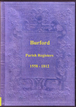 Shropshire Parish Registers: Burford 1558-1812