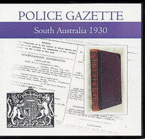 South Australian Police Gazette 1930