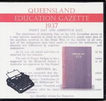 Queensland Education Gazette 1937