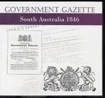 South Australian Government Gazette 1846