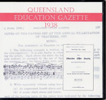 Queensland Education Gazette 1938