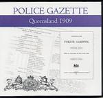 Queensland Police Gazette 1909